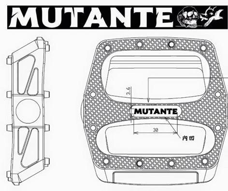 pedales mutante